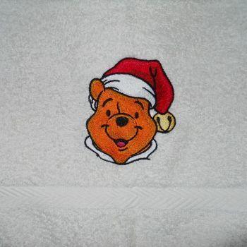 handdoek pooh kerst
