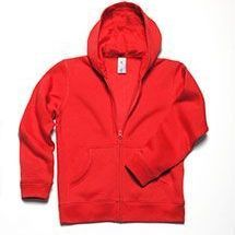 B&C hooded full zip