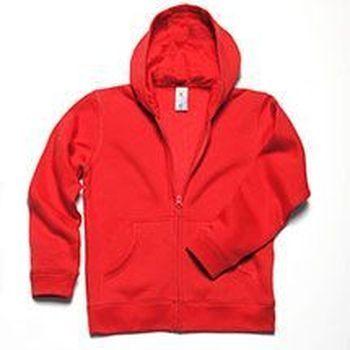 B&C hooded full zip