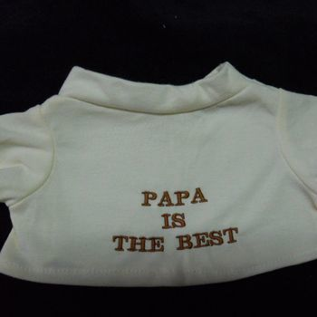 t-shirt papa is the best